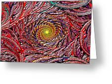 Hellooooo-oooo-ooo-oo-o Greeting Card by Janet Russell