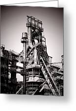 Helter Smelter Greeting Card by Olivier Le Queinec