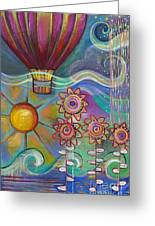 Here Comes The Sun Greeting Card by Carla Bank