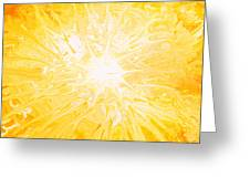 Here Comes The Sun Greeting Card by Kume Bryant