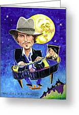 Here's Lookin' At You... Greeting Card by Karen Fulk