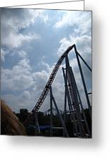 Hershey Park - Storm Runner Roller Coaster - 12122 Greeting Card by DC Photographer