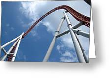 Hershey Park - Storm Runner Roller Coaster - 12123 Greeting Card by DC Photographer