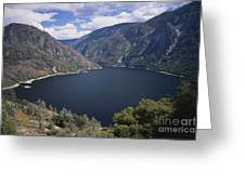 Hetch Hetchy Reservoir Greeting Card by Mark Newman