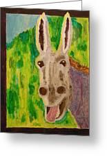 Hey Jack Greeting Card by Harold Greer