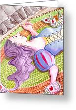 Hi Ho Hi Ho Greeting Card by Julie  Hutchinson
