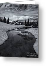 Hidden Beneath The Clouds Greeting Card by Mike  Dawson