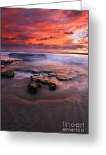Hidden By The Tides Greeting Card by Mike  Dawson