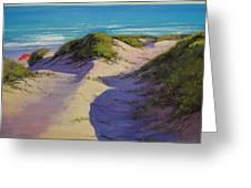 Hidden Dunes Greeting Card by Graham Gercken