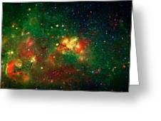 Hidden Nebula Greeting Card by The  Vault - Jennifer Rondinelli Reilly