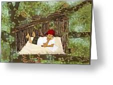 Hideaway Greeting Card by Julia and David Bowman