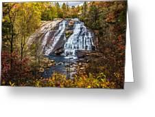 High Falls Greeting Card by John Haldane
