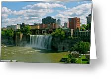 High Falls Rochester Greeting Card by Justin Connor