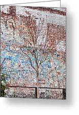 High Line Palimpsest Greeting Card by Rona Black