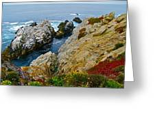 Highway One Greeting Card by Michael Blesius