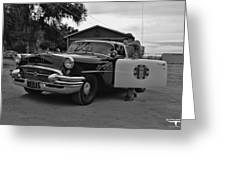 Highway Patrol 4 Greeting Card by Tommy Anderson