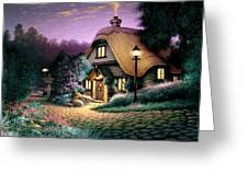 Hillcrest Cottage Greeting Card by Steve Read