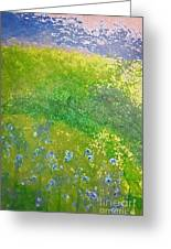 Hillside By Jrr Greeting Card by First Star Art
