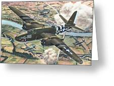 Historic A-20 Havoc Greeting Card by Stu Shepherd