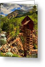 Historic Colorado Greeting Card by Adam Jewell