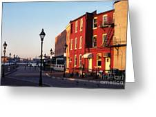 Historic Fells Point Greeting Card by Thomas R Fletcher