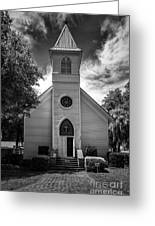 Historic Mcintosh Methodist Church Greeting Card by Lynn Palmer