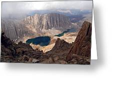 Hitchcock Lakes Greeting Card by Baywest Imaging