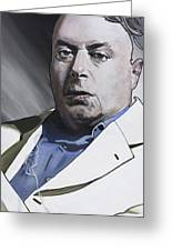 Hitchens Greeting Card by Simon Kregar