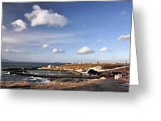 Hofsos - Iceland Greeting Card by Alicja Magdalena Zbikowska