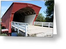 Hogback Bridge Greeting Card by David Bearden