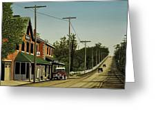Hoggs Hollow Toronto 1920 Greeting Card by Kenneth M  Kirsch