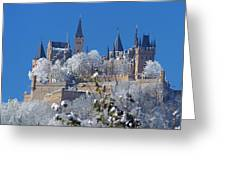 Hohenzollern Castle Germany Greeting Card by Rudi Prott