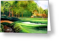hole number10 Greeting Card by Lamarr Kramer
