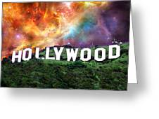 Hollywood - Home Of The Stars By Sharon Cummings Greeting Card by Sharon Cummings