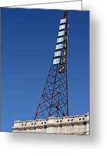 Hollywood Pacific Theatre Tower Greeting Card by Gregory Dyer