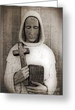 Holy Man Greeting Card by Edward Fielding
