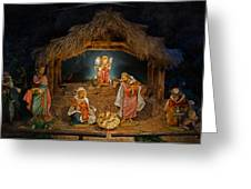 Holy Night Greeting Card by Susan  McMenamin