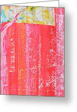 Homage To Old Paint Rags Greeting Card by Asha Carolyn Young