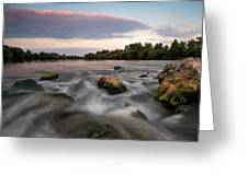 Home Greeting Card by Davorin Mance