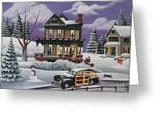 Home For The Holidays 2 Greeting Card by Catherine Holman