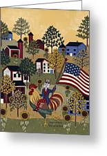 Home Of The Brave Greeting Card by Medana Gabbard