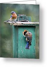 Home Sweet Home Greeting Card by Lori Deiter