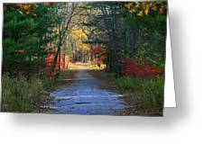 Homeward Bound Greeting Card by Neal  Eslinger
