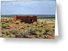 Homolovi Ruins State Park Az Greeting Card by Christine Till