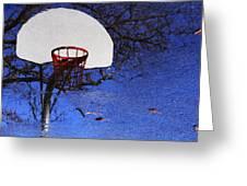 Hoop Dreams Greeting Card by Jason Politte