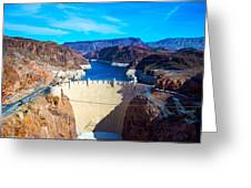 Hoover Damn Greeting Card by Art K