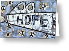 Hope Greeting Card by Anthony Falbo