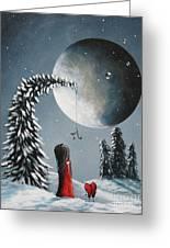 Hope Is On Her Way By Shawna Erback Greeting Card by Shawna Erback