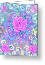 Hope Roses Greeting Card by Alixandra Mullins