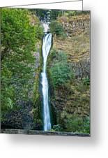Horsetail Falls Greeting Card by John Bailey